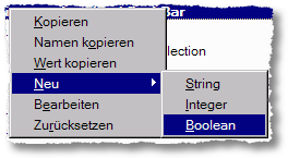Firefox about:config Boolean