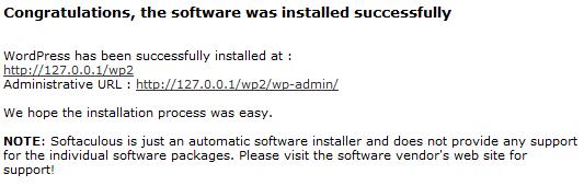 AMPPS CMS installiert