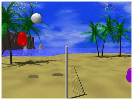 Blobby Volley Screenshot