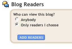Blogger Kontrolle