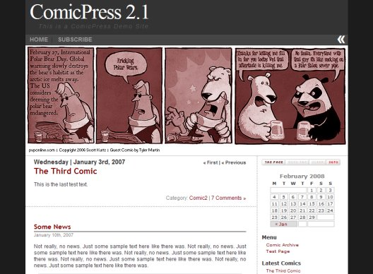 Comicpress WordPress-Theme