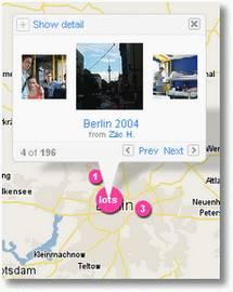 flickr maps fotoscroll