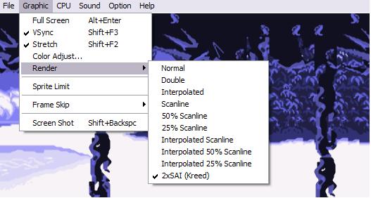 Screenshot Gens, Sega-Emulator
