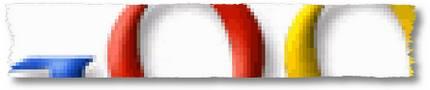 Google Logo Ausriss