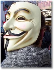 Guy Fawkes-Maske