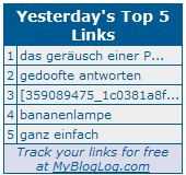 MyBlogLog: Top Links