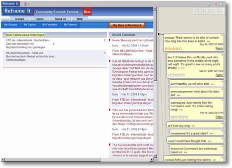 reframeit.com Startseite