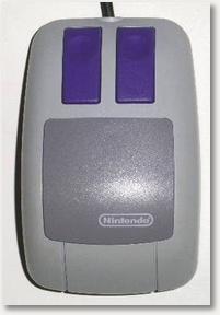 Die Maus vom Super Nintendo