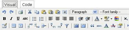 Advanced TinyMCE Editor for WordPress