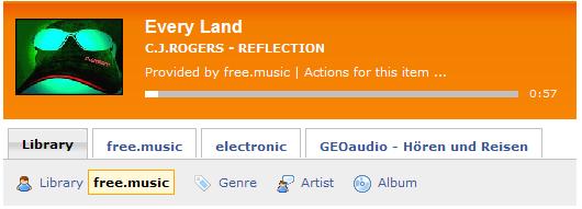 Der tunesBag-Player