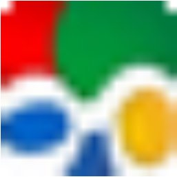 Googles neues Favicon, gedreht